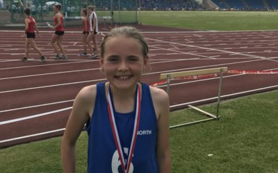 Aisling Wins Gold Number 3 in ISA 600m Final