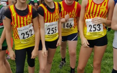 U13 girls 8th in first Manchester League